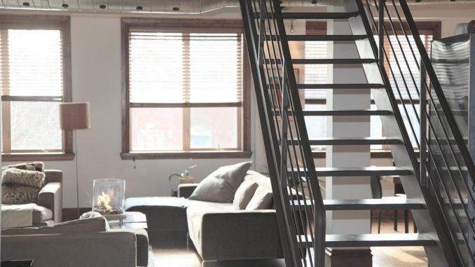 Un escalier pour une décoration intérieure originale